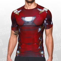 Alter Ego Iron Man Suit Compression SS Tee