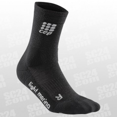 Outdoor Light Merino Mid-Cut Socks