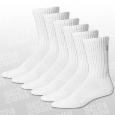 Charged Cotton 2.0 Crew Socks 6er-Pack