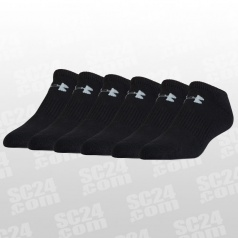 Charged Cotton 2.0 No Show Socks 6er-Pack