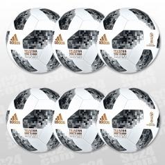 Telstar 18 World Cup OMB 6er Ballpaket