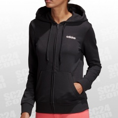 Essentials Plain FZ Hoody Women