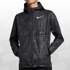 Shield Ghost Flash Camo Hooded Jacket