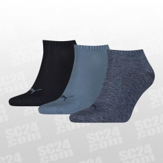 Sneaker Plain Socks 3-PACK