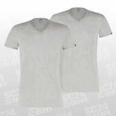 Basic V-Neck Tee 2er Pack