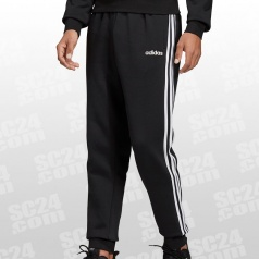 Essentials 3 Stripes Tapered Fleece Pant Cuffed
