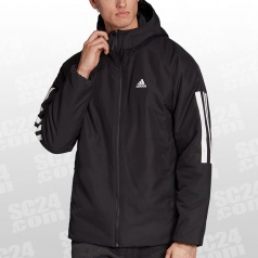 Back-to-Sports 3-Stripes Hooded Insulated Jacket