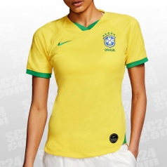Brasil 2019 Stadium Home Jersey Women