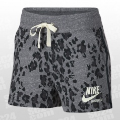 Animal Print Leopard Gym Vintage Sportswear Short Women