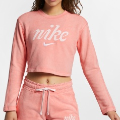 Sportswear Washed Crop Crew Women