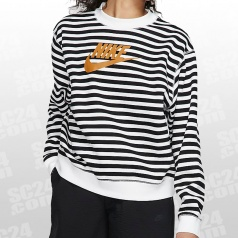 Animal Print Crew LS Women