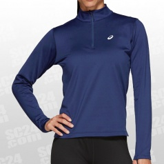 Silver LS 1/2 Zip Winter Top Women