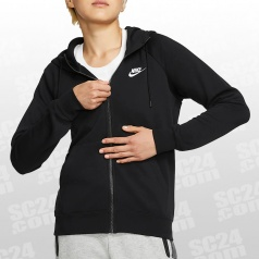 Essential Fleece FZ Hoodie Women