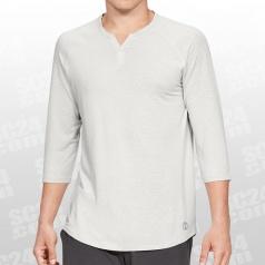 Athlete Recovery Sleepwear 3/4 Sleeve Henley Shirt