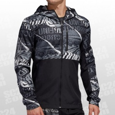 Own The Run Graphic Jacket