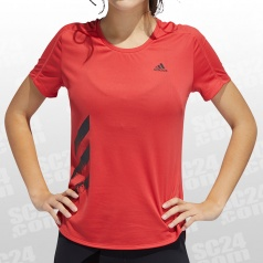 Run It Tee 3-Stripes Women