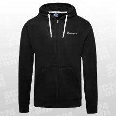 Hooded Logo Fleece Full Zip Sweatshirt