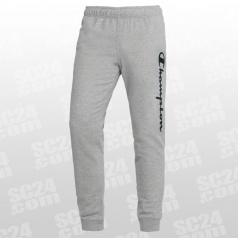 Rib Cuff Fleece Logo Pants