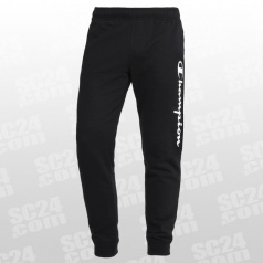 Rib Cuff Fleece Logo Pants