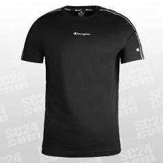 Crewneck Logo-Band T-Shirt