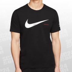 Sportswear Swoosh Hybrid SS Tee