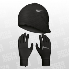Essential Running Hat and Gloves Set