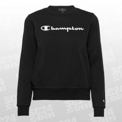 Crew Neck Logo Fleece Sweatshirt Women