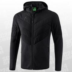 Padded Fleece Hooded Jacket