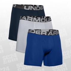 Charged Cotton Boxerjock 6 inch 3-Pack