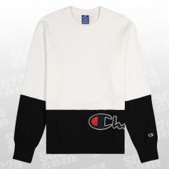 Rochester 1919 Colorblock Crewneck Sweatshirt