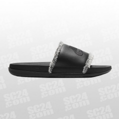 OffCourt Leather Slide Women