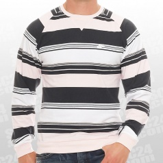Fusion Yarn Dyed Striped Crew Neck