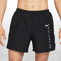 Challenger Run Division Brief-Lined 5 Inch Running Shorts