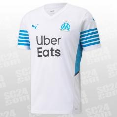 Olympique de Marseille Home Shirt Replica 2021/2022