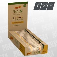 REAL5 + Magnesium Vegan Energy Bar Banana Hazelnut