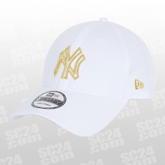 9FORTY New York Yankees Metallic Logo Cap