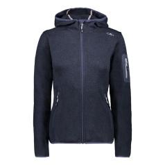 Knit-Tech Meliert Hoody Fleece Jacket Women