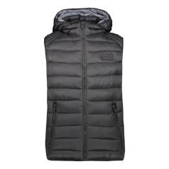 Padded 3M Thinsulate Zip Hood Vest