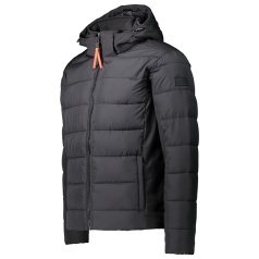 Padded Softshell Zip Hood Jacket