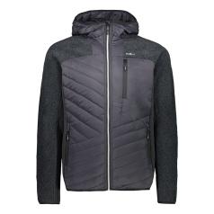 Padded Fix Hood Hybrid Jacket