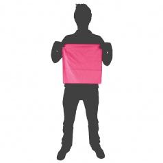 Soft Fibre Pocket Towel Pink