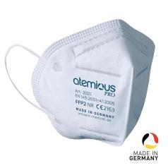 10x atemious Pro FFP2 Viren-filternde Atemschutzmaske
