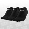 3PPK Lightweight No Show Socks