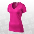 Mid V-Neck Embroidered Swoosh Tee Women