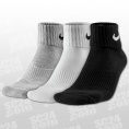 3PPK Cushion Quarter Socks
