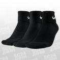 3PPK Cushion Quarter Socks