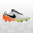 Nike Tiempo Legend VI SG-Pro weiss/orange Größe 39