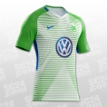 VfL Wolfsburg Home Jersey 2017/2018