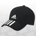 C40 6-Panel 3-Stripes Climalite Cap