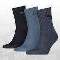 Short Crew Socks 3-PACK